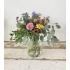 Compact boeket bloemen